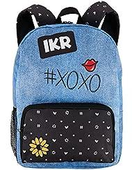 Magic Sequin Fractal Fashion School Supplies Nylon Backpack Bookbag Tote
