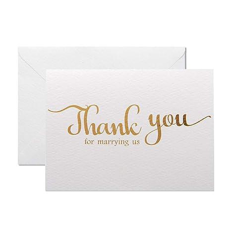 Amazon.com: Magjuge - Tarjeta de felicitación de boda con ...