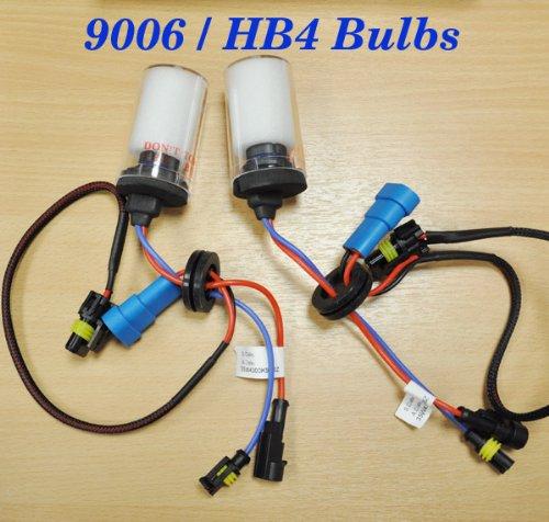 HB4 9006 HID Xenon Bulb 2 Replacement Headlight Bulbs 35w Lamp UK 8000k Blue