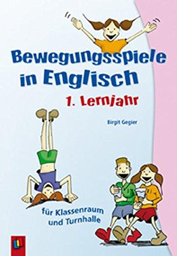 Bewegungsspiele in Englisch - 1. Lernjahr (Kids' corner)