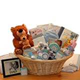 Gender Neutral Baby Gift: Welcome Home Precious Baby Basket -Yellow