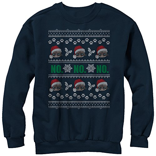 Grumpy Cat No Ugly Christmas Sweatshirt