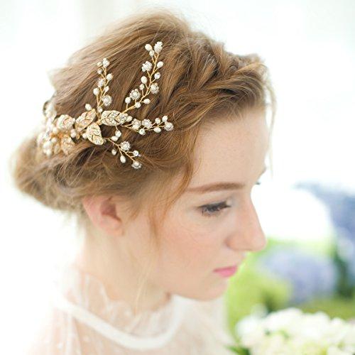Haarschmuck hochzeit rosegold beliebtester schmuck - Hochzeit haarschmuck ...