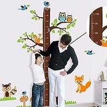 Toise enfants autocollant de pièce de crèche mur Wall Art Stickers
