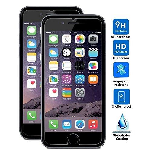 c1a3bbd36ff Mica Cristal Templado Protector de Pantalla Para iPhone 6s o iPhone 6  Dureza 9H 0.33mm