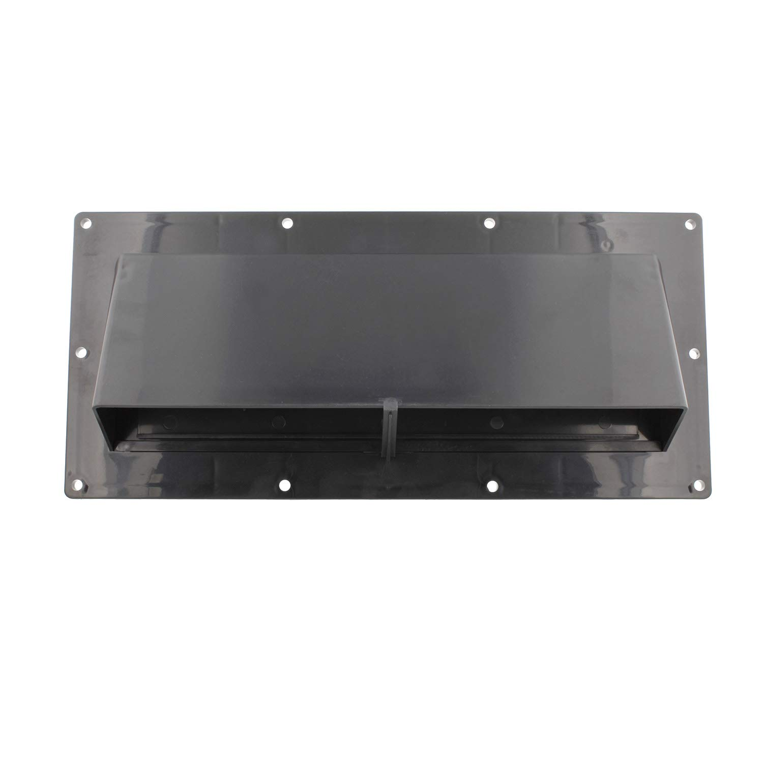 Dumble RV Range Vent Cover Exterior Vent with Locking Damper and Screws, RV Exhaust Vent Cover for RV Stove Vent - Black by Dumble