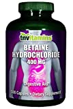 Betaine HCL Digestive Enzyme 400 Mg (500 Capsules) Review