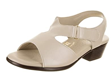 2c40d6047b8 SAS Women s Suntimer - Wide Pearl Bone Sandal 5 Wide Women US