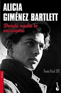 Donde nadie te encuentre par Giménez Bartlett