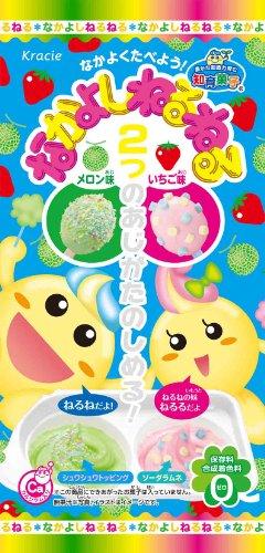 Nakayoshi Neru Neru Diy Candy - Melon taste & strawberry taste