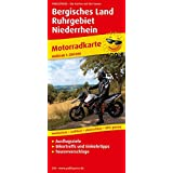 Bergisches Land - Ruhrgebiet - Niederrhein: Motorradkarte mit Ausflugszielen, Einkehr- & Freizeittipps und Tourenvorschlägen, wetterfest, reissfest, ... GPS-genau. 1:200000 (Motorradkarte / MK)