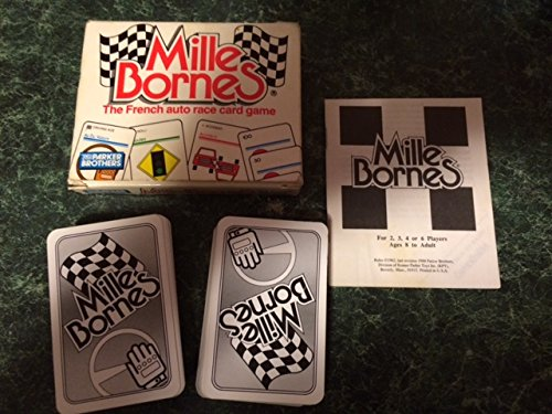 Mille Bornes The French auto race card game
