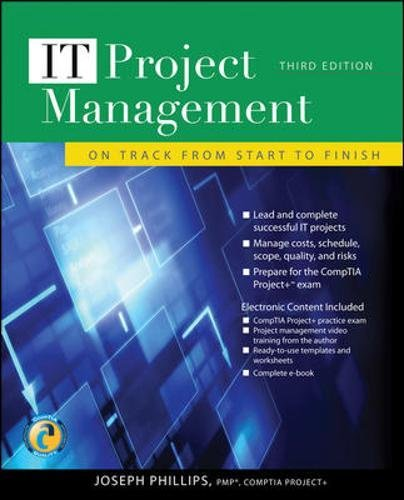 IT Project Management: On Track from Start to Finish, Third - Jersey Gardens Operation Hours Of
