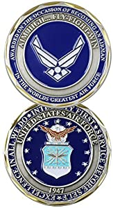 U.S. Air Force Airman Award Challenge Coin by Eagle Crest by Eagle Crest by Eagle Crest