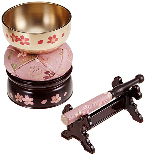 no!no! Orin (buddhist Bell) Suite Cherry Blossoms Maki-é (Lacquer design)