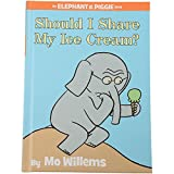 Constructive Playthings LB-437 ''Should I Share My Ice Cream?'' an Elephant and Piggie Book by Mo Willems, Grade: Kindergarten to 3, 6.8'' Height, 0.55'' Wide, 9.3'' Length