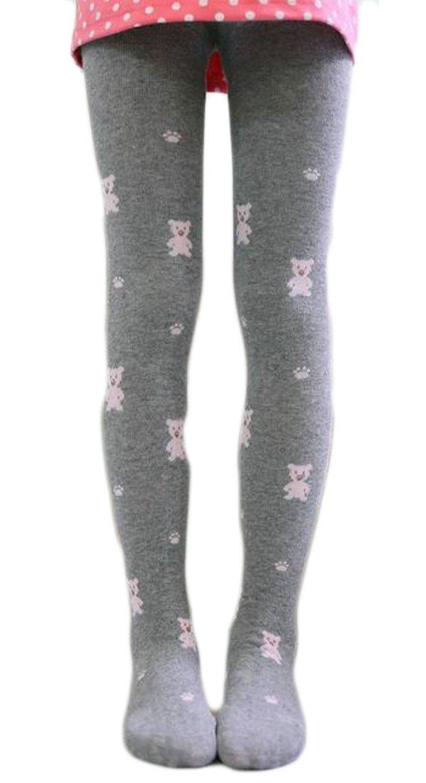 ainr Girls Fashion Soft Ballet Leotards Toddler Dance Leggings Pants Footed Kids 3 2T