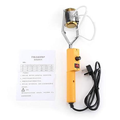 Pot Tin Melting Furnace Portátil Eléctrico De 220 V con control de la temperatura, soldadura