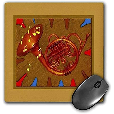Collection Viennese - Miniature Collection - Viennese Horn - MousePad