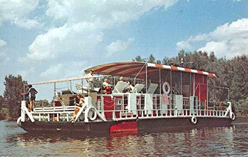 Fort Myers Florida 5 day cruise on shanty boat Lazy Bones vintage pc ZA440161 ()