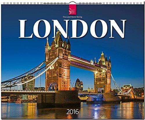 London 2016: Original Stürtz-Kalender - Großformat-Kalender 60 x 48 cm [Spiralbindung]