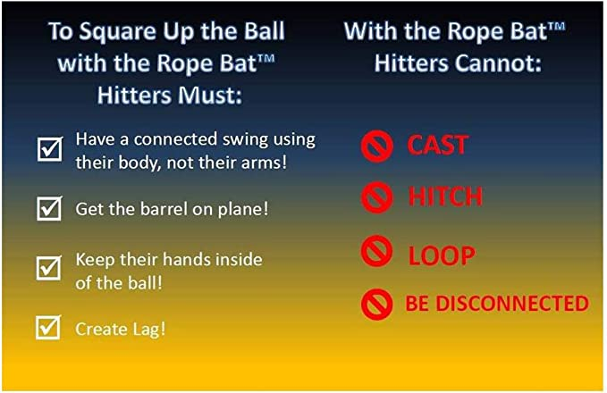 INSIDER BAT Baseball Softball Batting Hitting Aid SWING TRAINER Training Tool 07