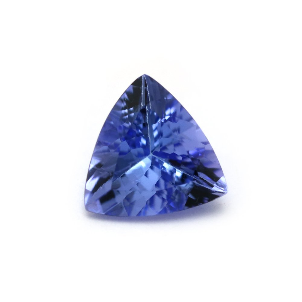 1.58 Carats TCW AA+ Top Tanzanite Trillion Fine Quality Gem By DVG