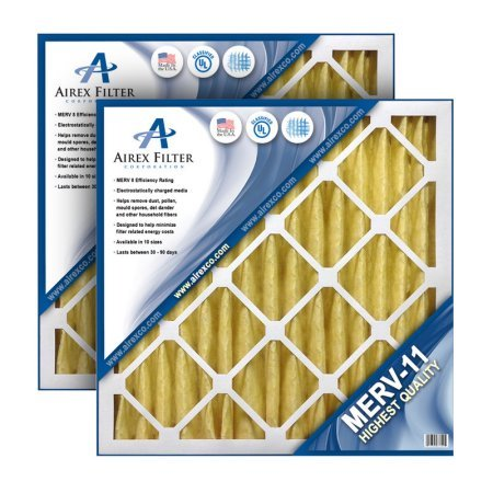 14x30x1 Pleated Air Filter MERV 11 - Highest Quality - 6 Pack - (Actual Size: 13.75 X 29.75 X .75)