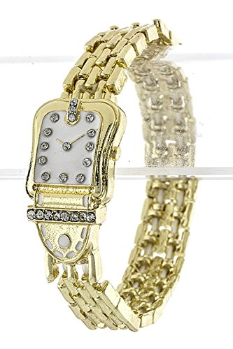 TRENDY FASHION JEWELRY FAUX CLASSIC WATCH BRACELET BY FASHION DESTINATION | (Monet Costume Jewelry Bracelet)