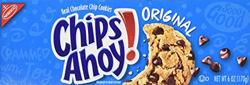 Chips Ahoy! Chocolate Chip Cookies, Original, 6 Ounce (Pack of 12) ()