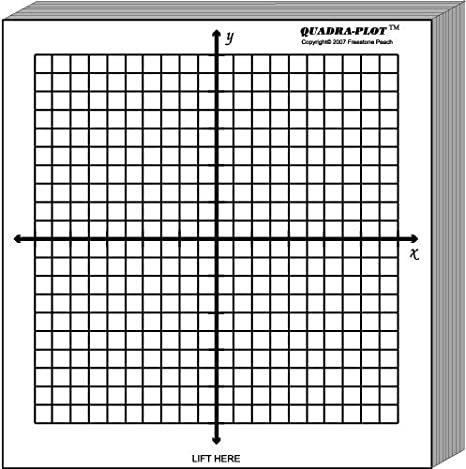 Workbook coordinate plane worksheets that make pictures : Amazon.com : Graph Paper pads: 5 pads of 3x3 inch adhesive backed ...