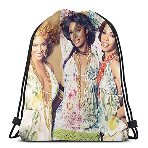 MDECTTHY Destiny's Child Waterproof Drawstring Backpack Bundle Beachu Sackpack For Men And Women