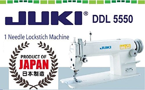 Juki DDL-5550 Industrial Straigh Lockstitch Sewing Machine Made in Japan-Head only
