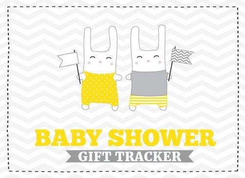 Baby Shower Gift Tracker: Gift Log & Guest Book For Baby Shower (V1)(8.25x6)