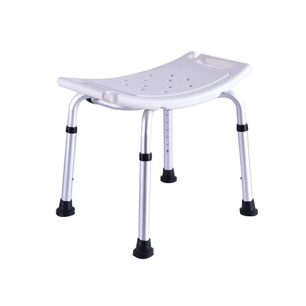 格安即決 バススツール シャワースツールバスチェアバスルームの座席調節可能な高さ滑り止めで安定した軽量アルミニウム高齢者の障害のある女性150kg白 B07K5RXJJV バススツール 滑り止めシャワーシートスツール B07K5RXJJV, 紳士靴専門店BOOM:051d3a5f --- arianechie.dominiotemporario.com