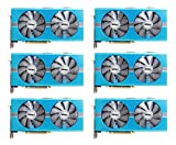 6 packs of Sapphire Radeon NITRO+ RX 580 8GB GDDR5 DUAL HDMI / DVI-D / DUAL DP w/ backplate SPECIAL EDITION (UEFI) PCI-E Graphic Cards 11265-21-20G