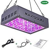 MAXSISUN LED Grow Light, Full Spectrum for Indoor
