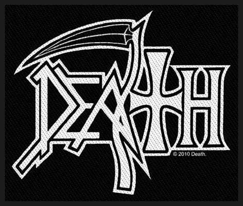 Death Logo Heavy Metal Music Band Woven Patch ()