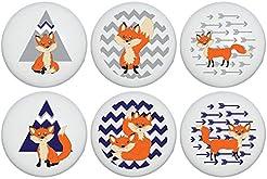 Fox Family Woodland Forest Animal Cerami...