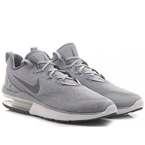 Nike NIKE AIR MAX Fury Herren Sneaker, Grau (Wolf Grey/Dark grey-stealth)
