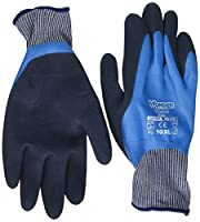 Wonder Grip WG318L Liquid-Proof Double-Coated/Dipped Natural Latex Rubber Work Gloves