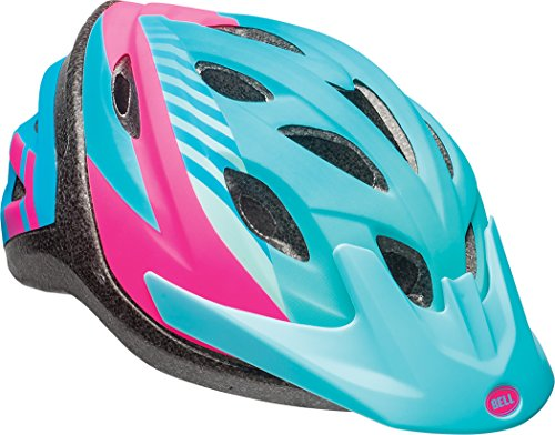 Bell Axel Youth Bike Helmet, Blue Tigris