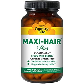 Amazon Com New Glo Hair Skin And Nails Supplement Advanced Unique Hair Growth Vitamins And