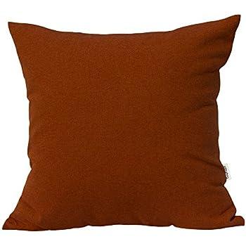 Amazon.com: Kevin Textile Decor Solid Decorative Toss Euro ...