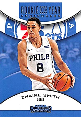 de9a9487cfe1 2018-19 Panini Contenders Rookie of the Year Contenders Retail Basketball   7 Zhaire Smith