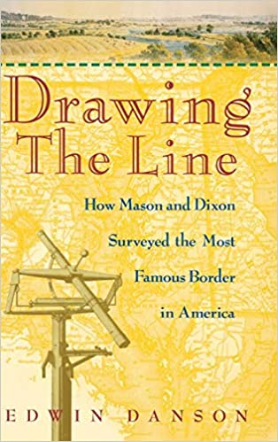 Drawing The Line How Mason And Dixon Surveyed The Most Famous - Us-map-mason-dixon-line