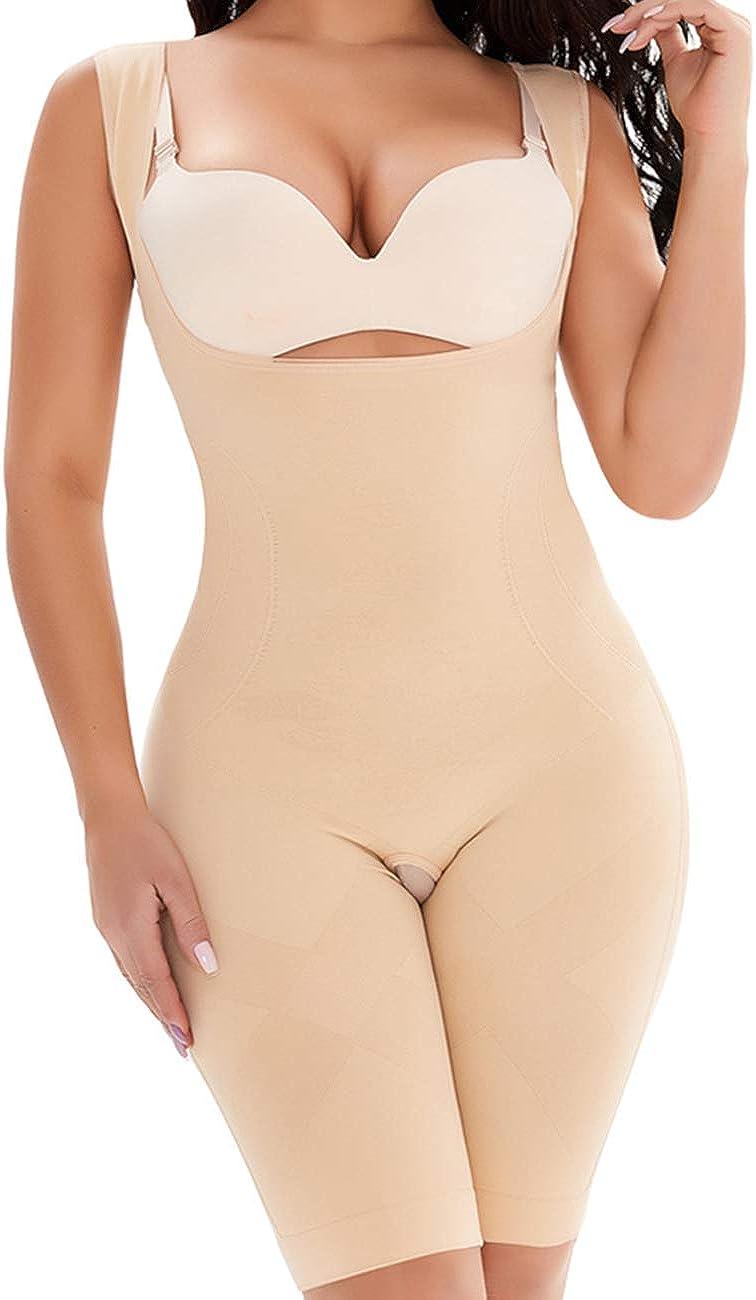 TOTAMALA Womens BodyBriefer Shapewear Slimming Tank Top Shaper Body Underbust Wear Tummy Control Seamless Vest Suit