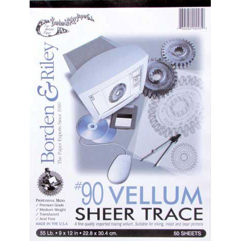 Borden Riley Sheer Trace Vellum product image