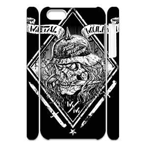 Metal Mulisha 3D Phone Case for Iphone 5C,diy Metal Mulisha 3d phone case BY BYS DESIGNS