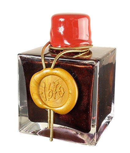 (J Herbin 1670 Anniversary Bottled Fountain Pen Ink, 50ml - Red)